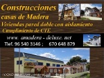 Foto Casas de madera economicas, doble pared 90 m2...